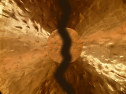 Broken Gong--Failure, or Wabi Sabi?